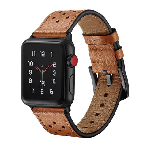 Bracelet Apple Watch <br /> Cuir Noble - Univers-Watch