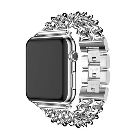Bracelet Apple Watch <br /> Metal Noir - Univers-Watch