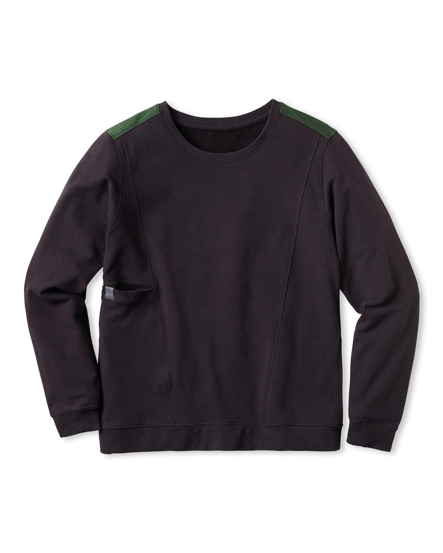 WARM PIMA ALPACA FLEECE SWEATSHIRT