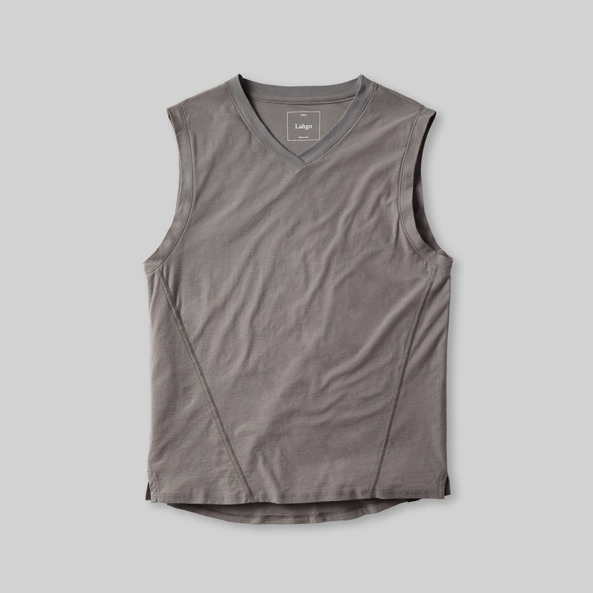 Second Image: Cool Muscle Tee Lahgo Sleepwear Cool Muscle Tee - #Slate