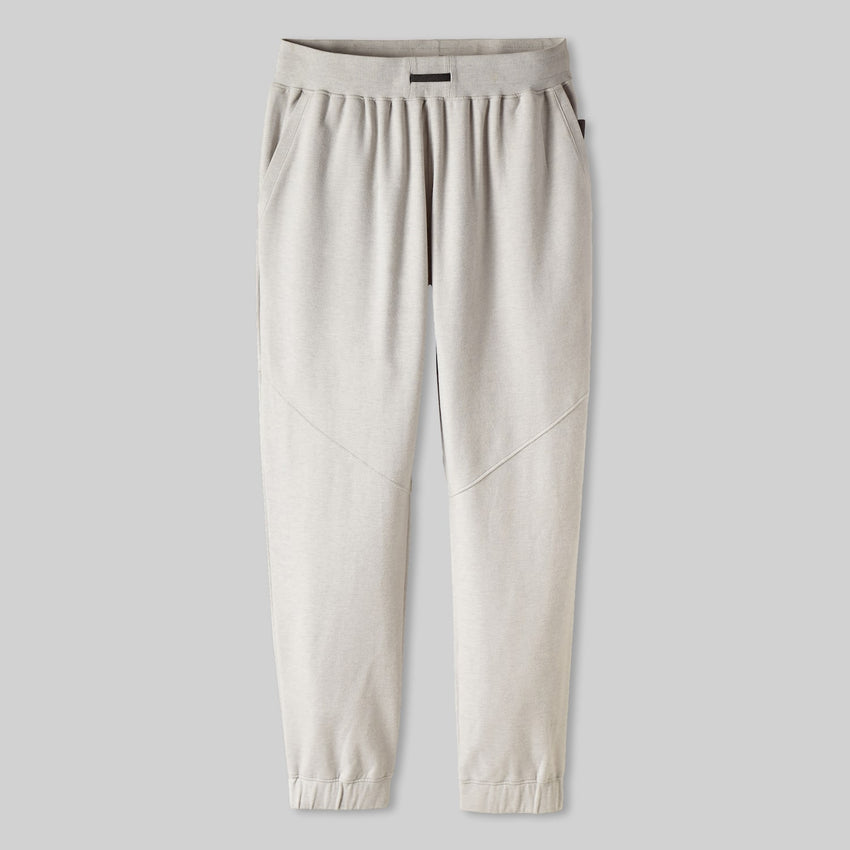 Second Image: Lahgo Sleepwear Warm Pima Alpaca Fleece Pant - #Cloud/Eclipse