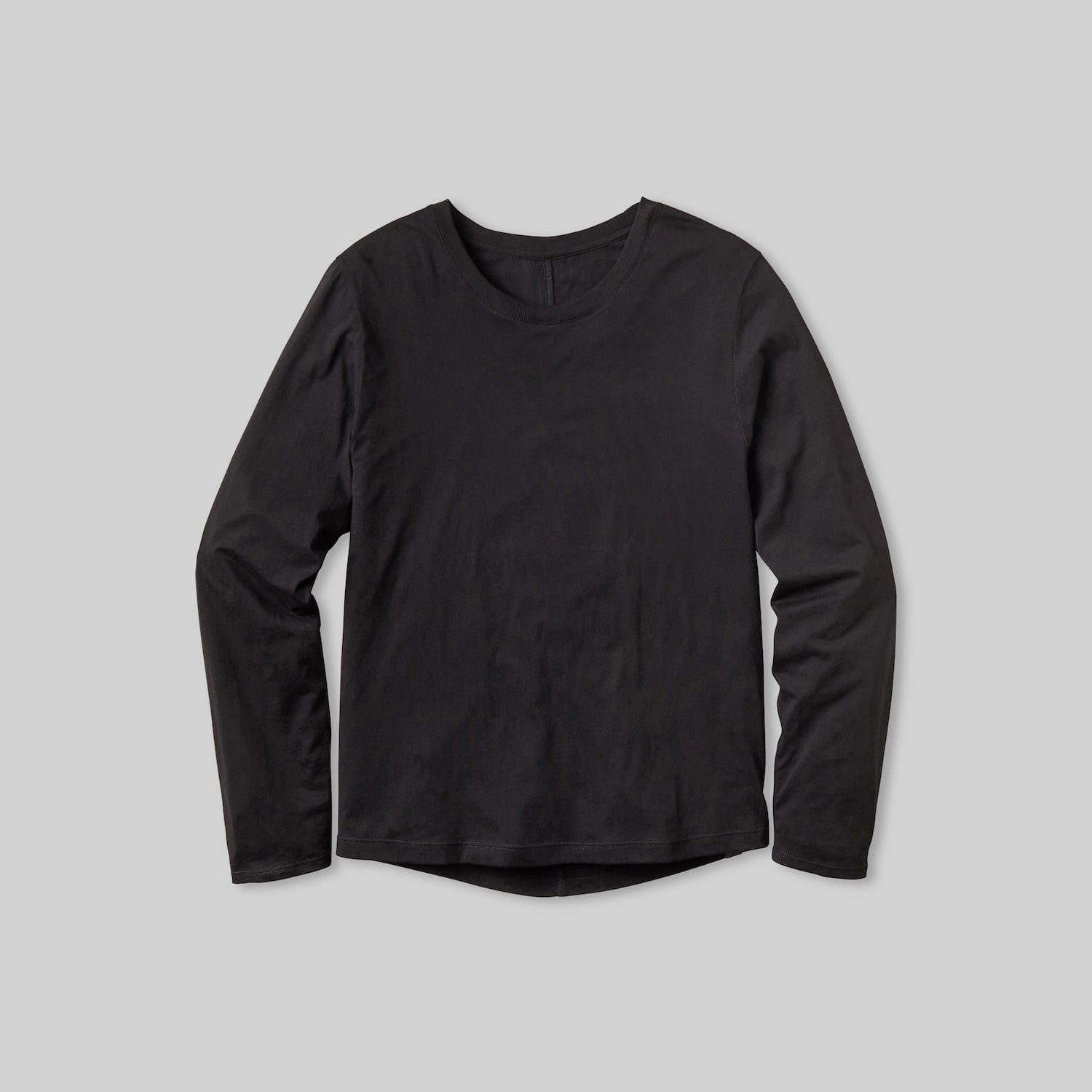 Lahgo Sleepwear Organic Long Sleeve Tee - #Black