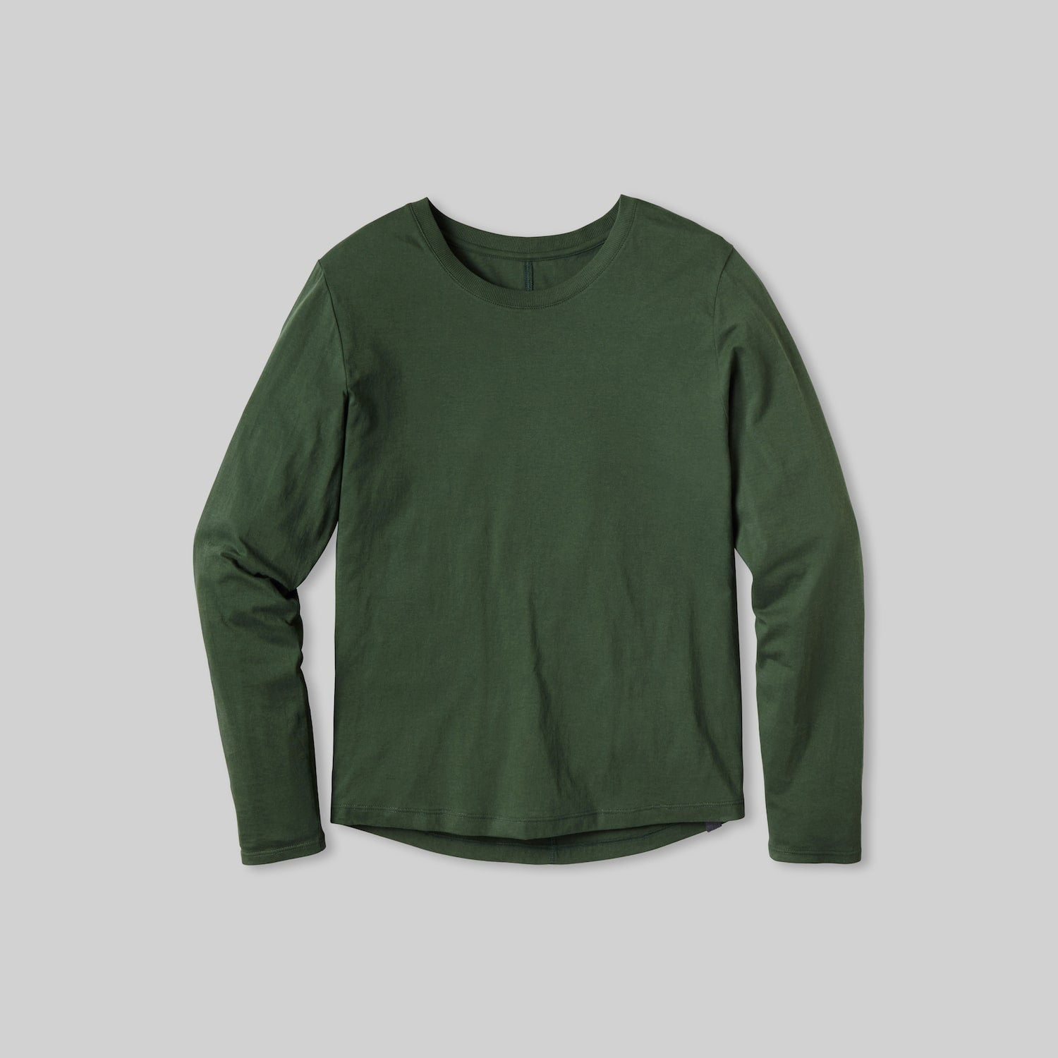 Lahgo Sleepwear Organic Long Sleeve Tee - #Forest