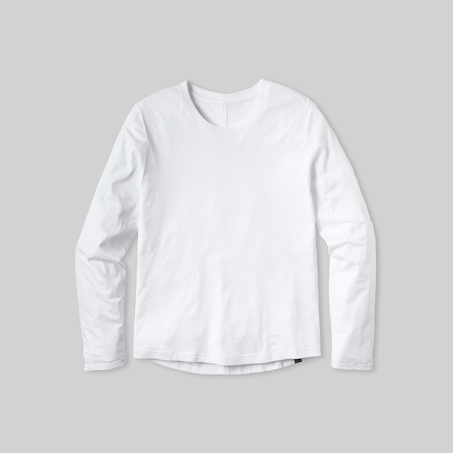 Lahgo Sleepwear Organic Long Sleeve Tee - #White
