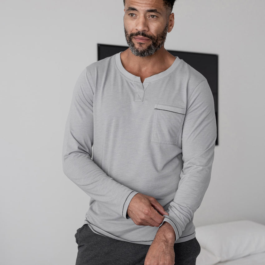Main Image: Restore Long Sleeve Henley