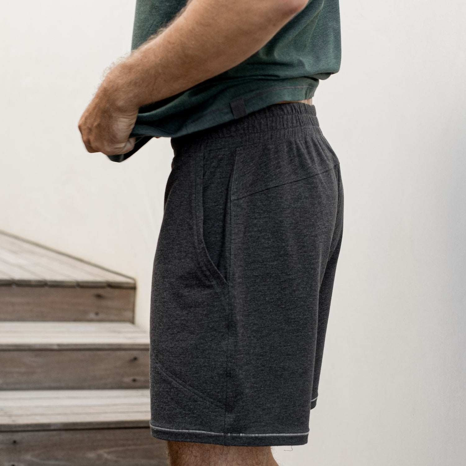 Lahgo Sleepwear Restore Short - #Charcoal