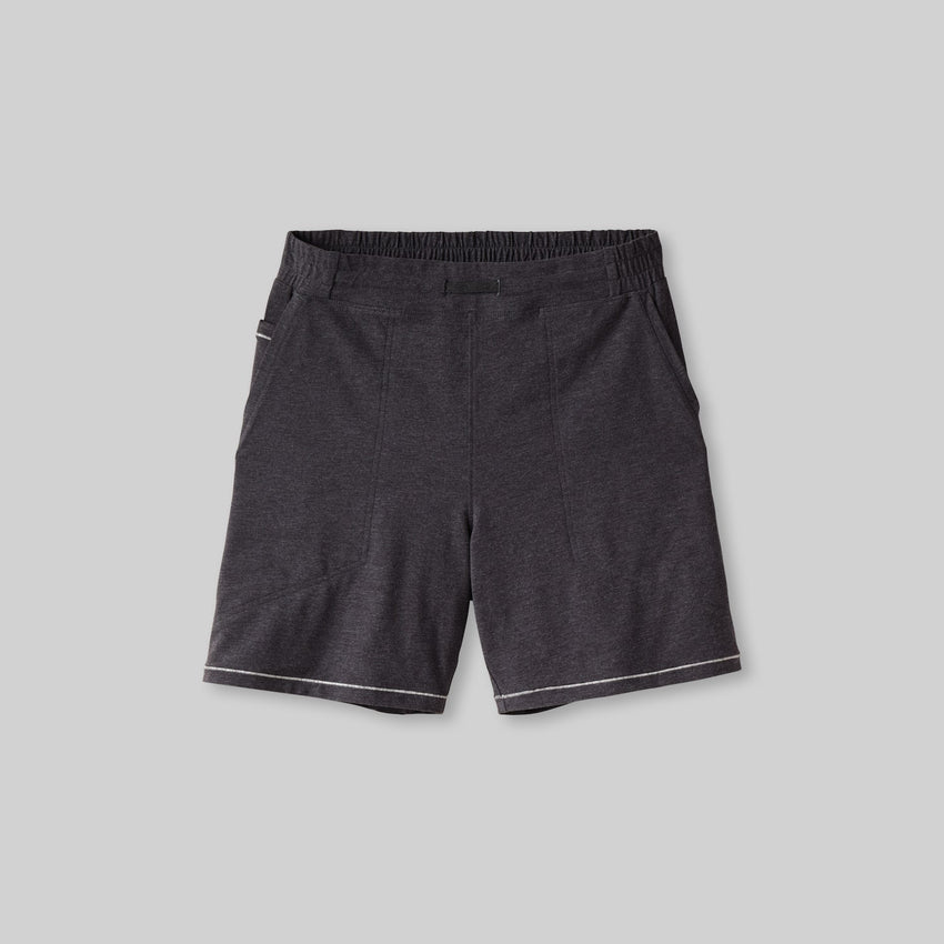 Second Image: Restore Short Lahgo Sleepwear Restore Short - #Charcoal