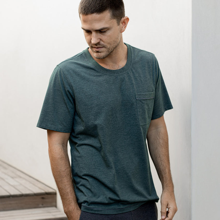 Main Image: Restore Short Sleeve Tee Forest / S
