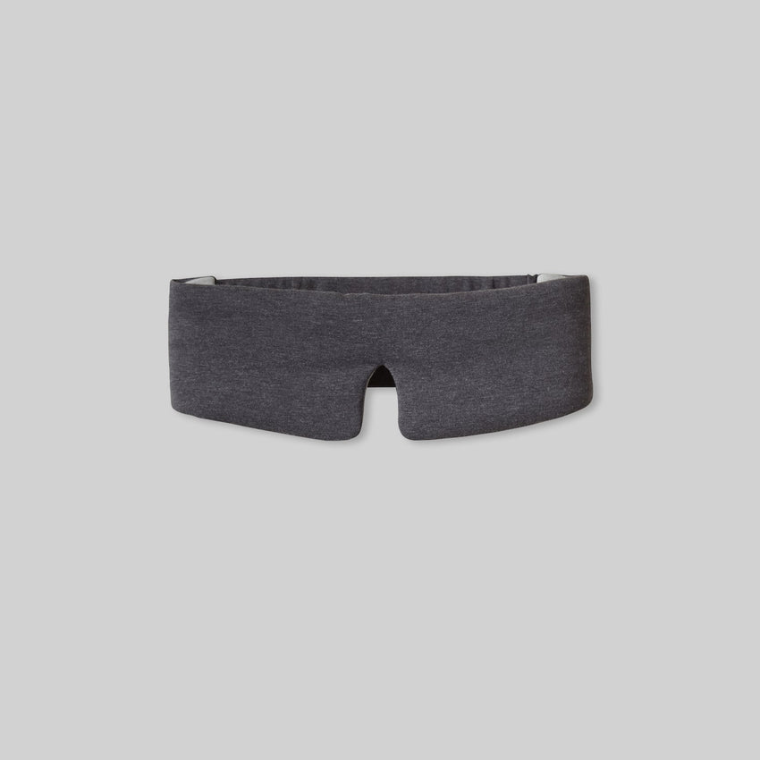 Second Image: Restore Sleep Mask Lahgo Sleepwear Restore Sleep Mask - #Charcoal/Moonstone