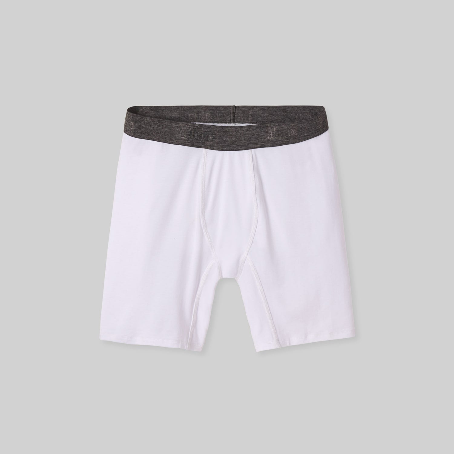 Lahgo Sleepwear Supportive Modal Boxer Brief - #White