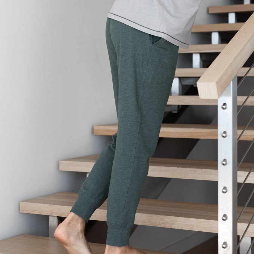 Second Image: Restore Jogger Lahgo Sleepwear Restore Jogger - #Forest