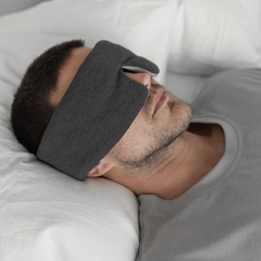 Main Image: Restore Sleep Mask Charcoal/Moonstone / OS