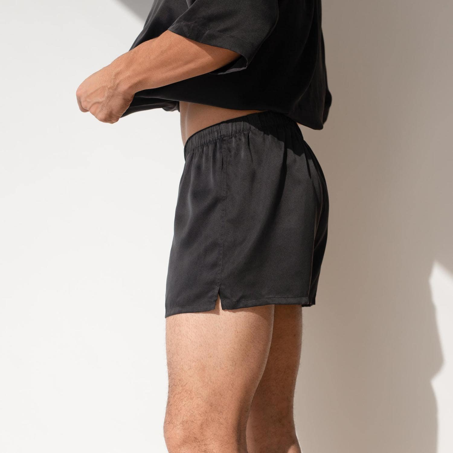 Lahgo Sleepwear Washable Boxer - #Black