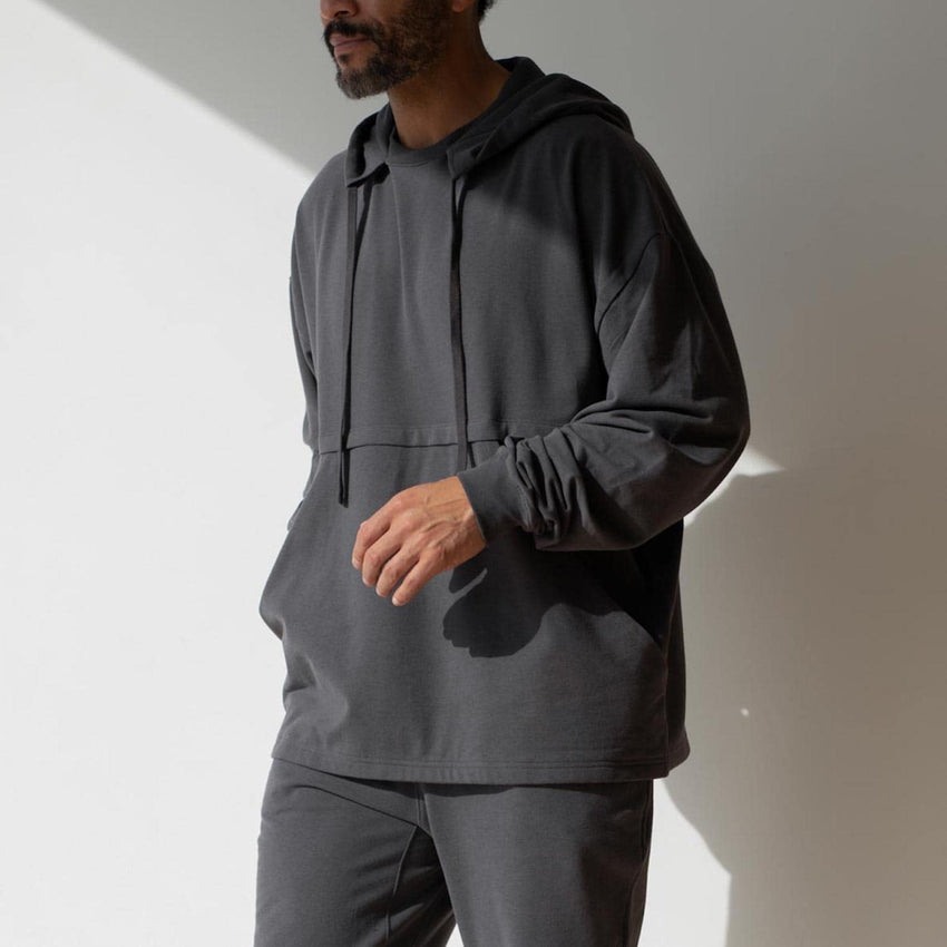 Main Image: Dreamy Wool Fleece Oversized Hoodie