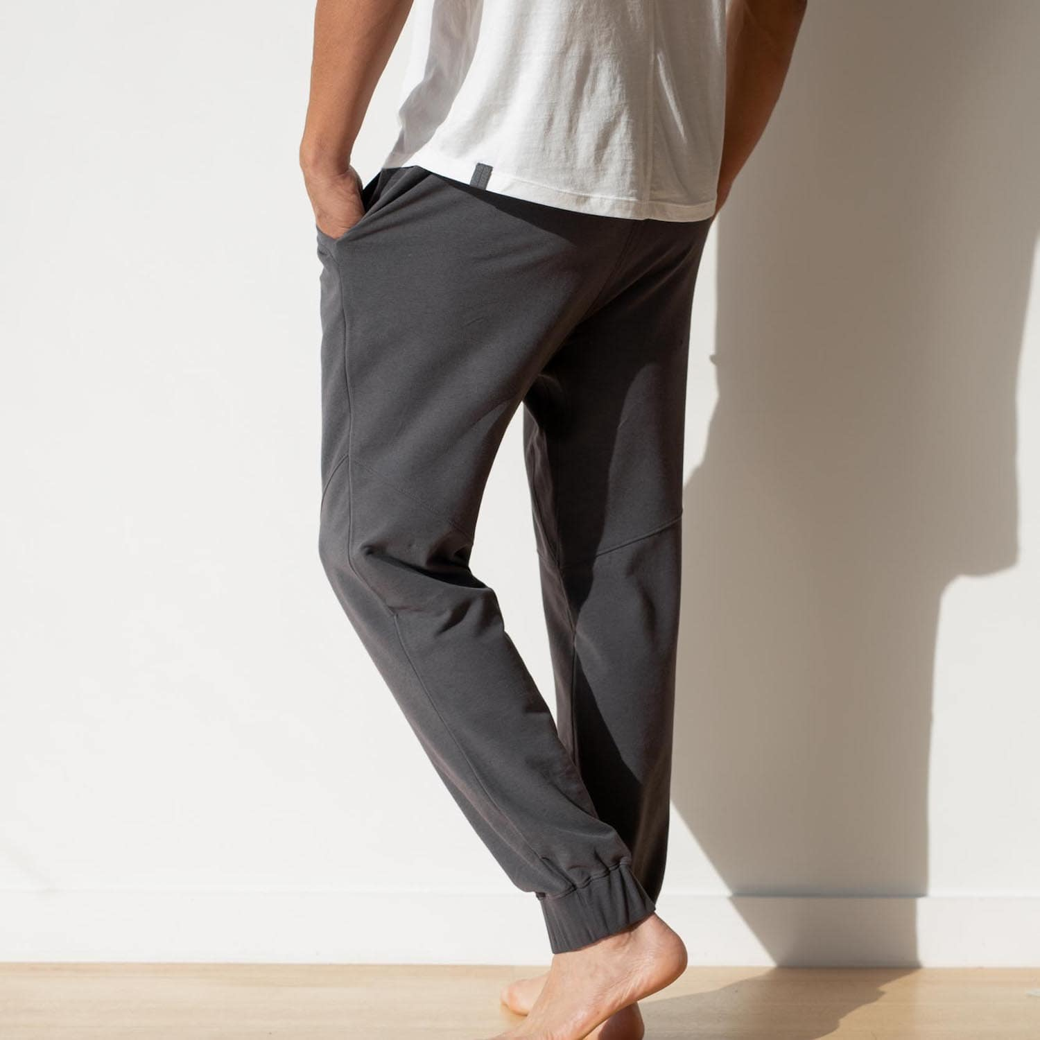 Lahgo Sleepwear Dreamy Wool Fleece Pant - #Eclipse