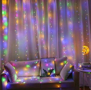 (💥Early Christmas 50%OFF) 2020 New Smart Led Curtain String Lights