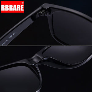 RBRARE Polarized Sunglasses Men Classic Rice Nail Sun Glasses For Men High Quality Lunette Soleil Homme Outdoor Driving Goggle