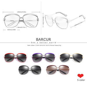 BARCUR Polarized Ladies Sunglasses