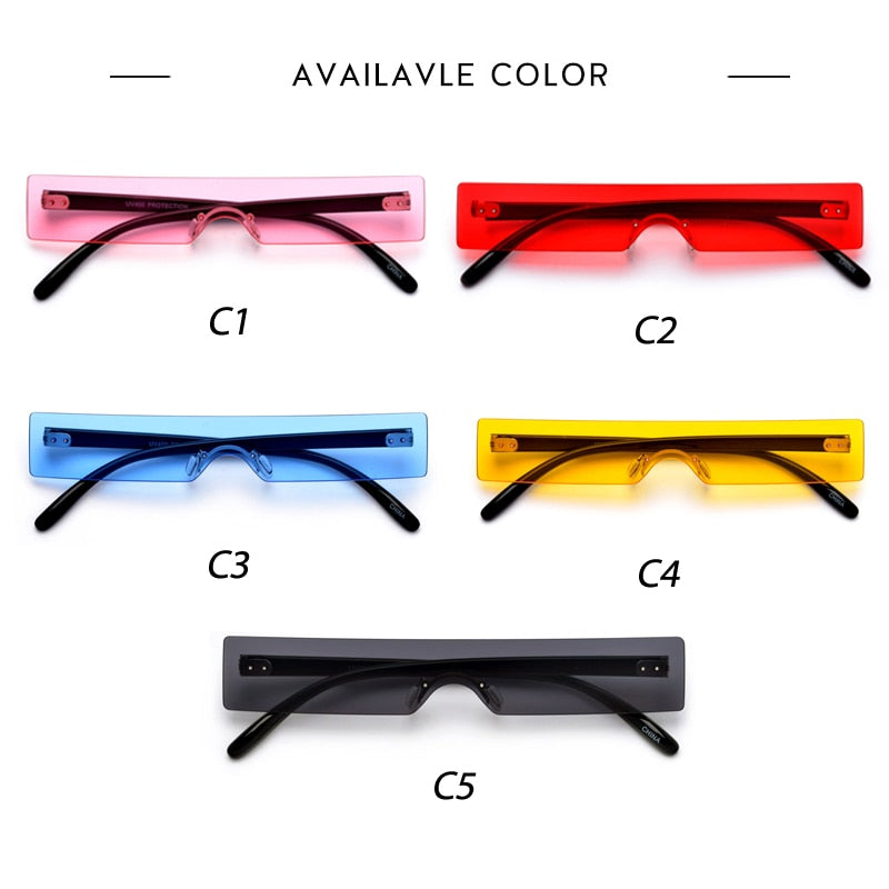 Ships From the US - New Rectangle Sunglasses