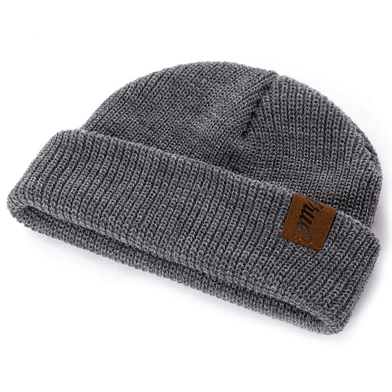 (💥Early Christmas 50%OFF) 1 Pcs Hat PU Letter True Casual Beanies for Men Women