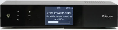 VU+ Duo 4K UHD Hybrid Linux Set-Top-Box