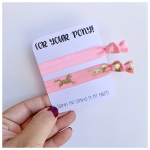 For you pony - Party Favours
