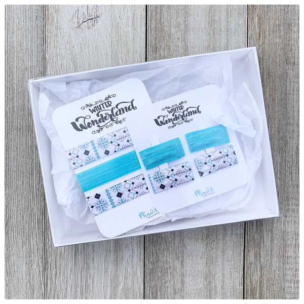 Hair Tie and Snap Clips - Box Set