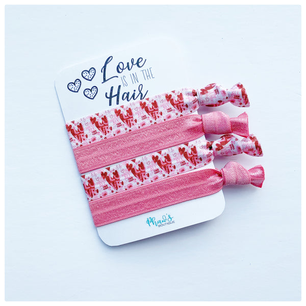 Love is in the Hair | Hair Tie Set