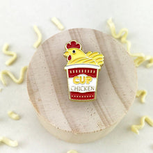 Load image into Gallery viewer, Chicken Cup Noodle Pin