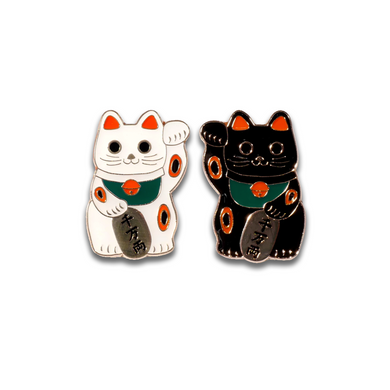 FORTUNE CAT PIN