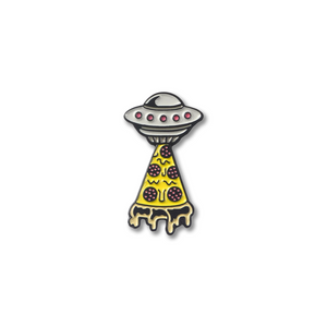 PIZZA UFO PIN
