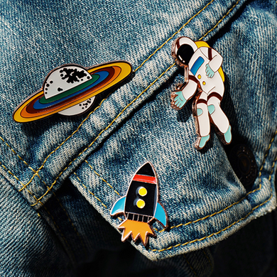 SPACE ADVENTURE PIN