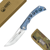 "KU170B - Ishtar 3.5"" Satin Aus-10 Blade Frame Lock Folding Knife"