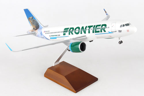 SKR8350 SKYMARKS FRONTIER A320neo 1/100 CHOO THE PIKA - SkyMarks Models