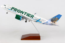 Load image into Gallery viewer, SKR8350 SKYMARKS FRONTIER A320neo 1/100 CHOO THE PIKA - SkyMarks Models