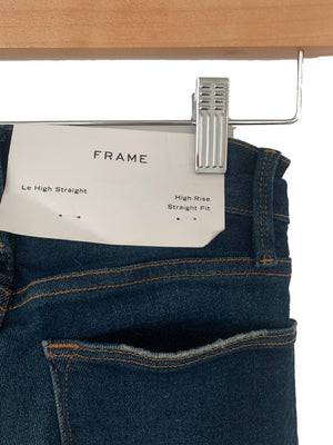 FRAME Le High Straight - Size 24