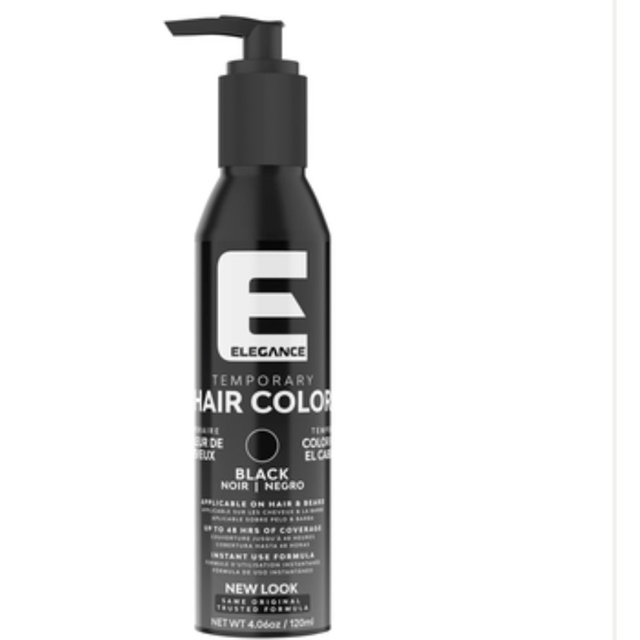 Elegance Temporary Hair Color - Black