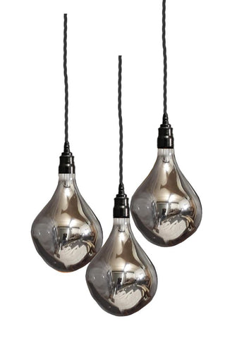 Pendant cluster lights for dining tables