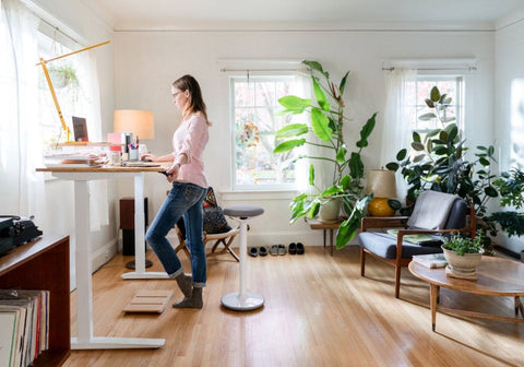 Working from home,  creative spaces