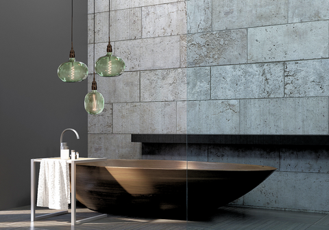 Genoa IP44 bathroom Pendant Cluster by The Light Yard