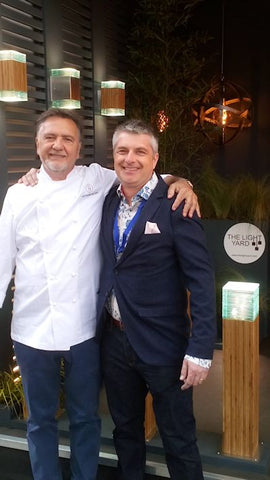 Raymond Blanc - Jardin Blanc at The RHS Chelsea flower show 2019