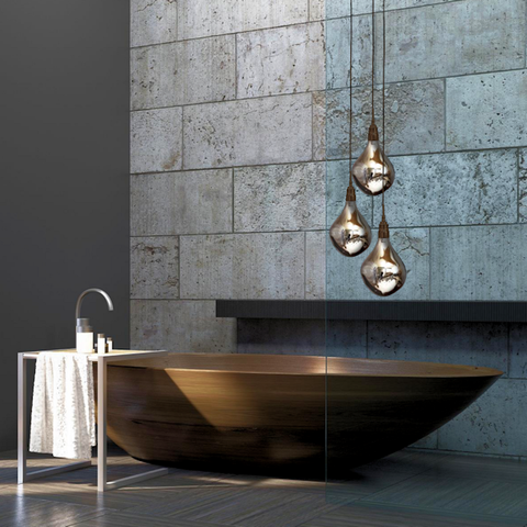 Contemporary bathroom lighting by The Light Yard