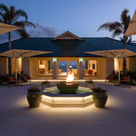 Honolulu case study, exterior lighting project from The Light Yard