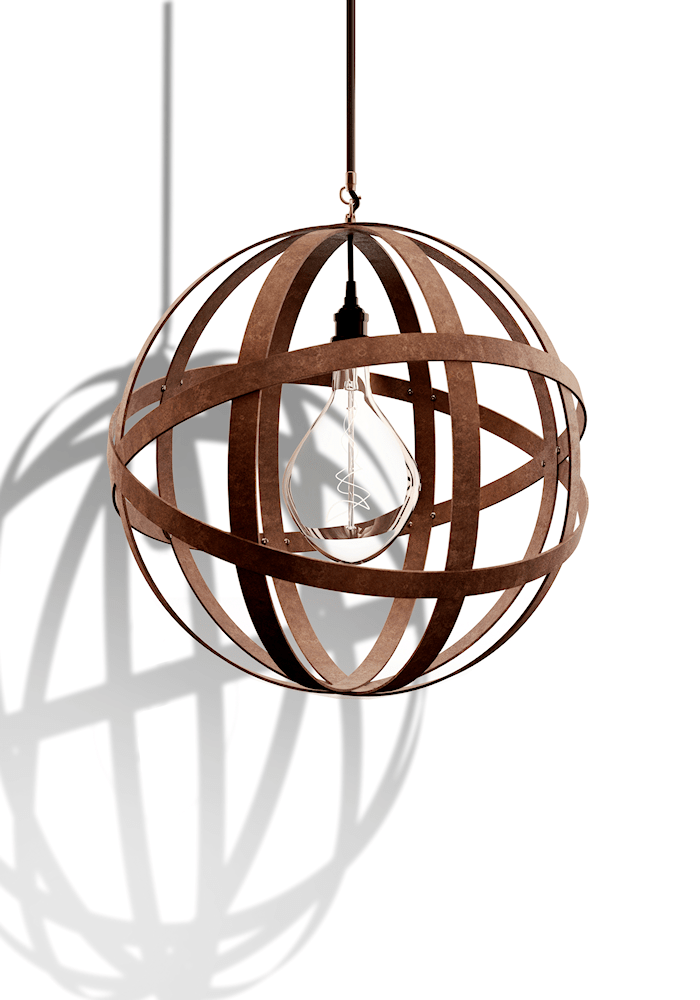 IP44 ORBITAL INDUSTRIAL BATHROOM PENDANT LIGHT - The Light Yard