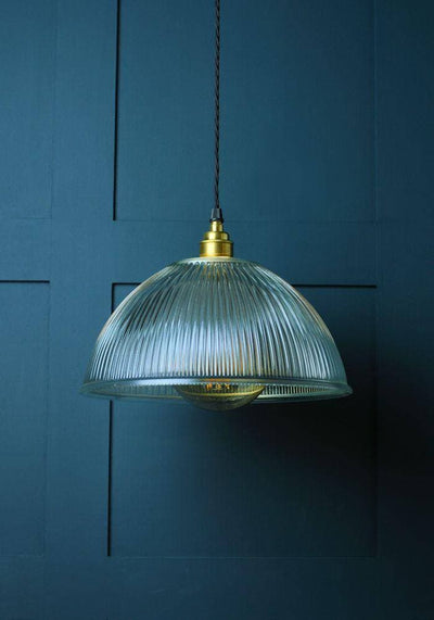 PRISMATIC DOME GLASS PENDANT LIGHT - The Light Yard
