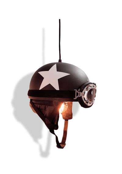 LONE STAR HELMET PENDANT LIGHT - The Light Yard