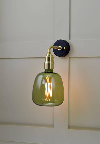CALEX KIRUNA COLOURED GLASS WALL LIGHT - The Light Yard