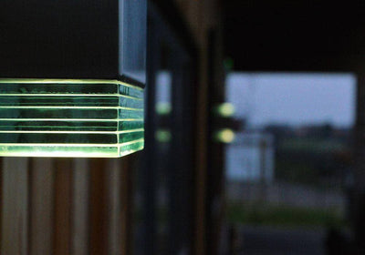 ACIER BEACON LED PILLAR WALL LIGHT - The Light Yard