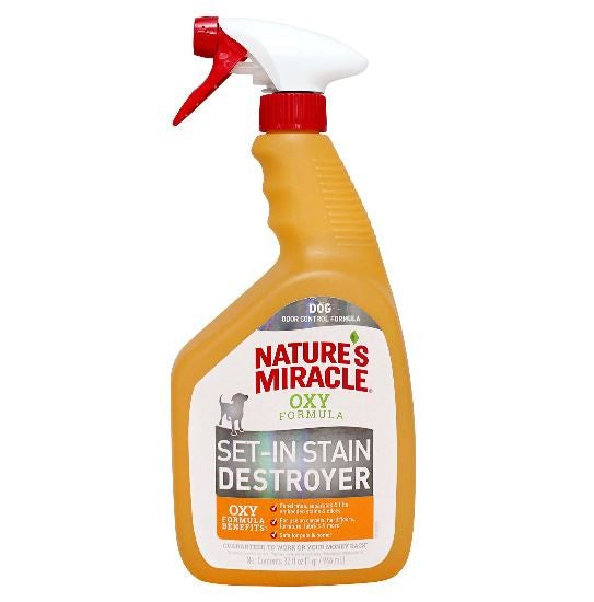 NATURES MIRACLE OXY SET-IN STAIN DESTROYER 946ML
