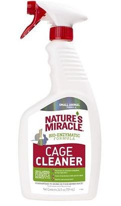 NATURES MIRACLE SMALL ANIMAL CAGE CLEANER 709ML